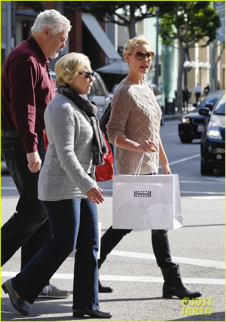 katherine heigl shopping mom dad 19