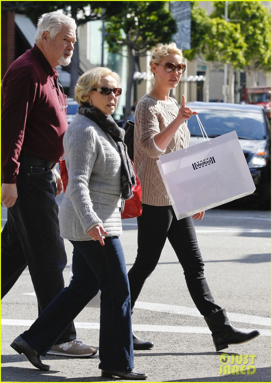 Full Sized Photo of katherine heigl shopping mom dad 20 ... Katherine Heigl