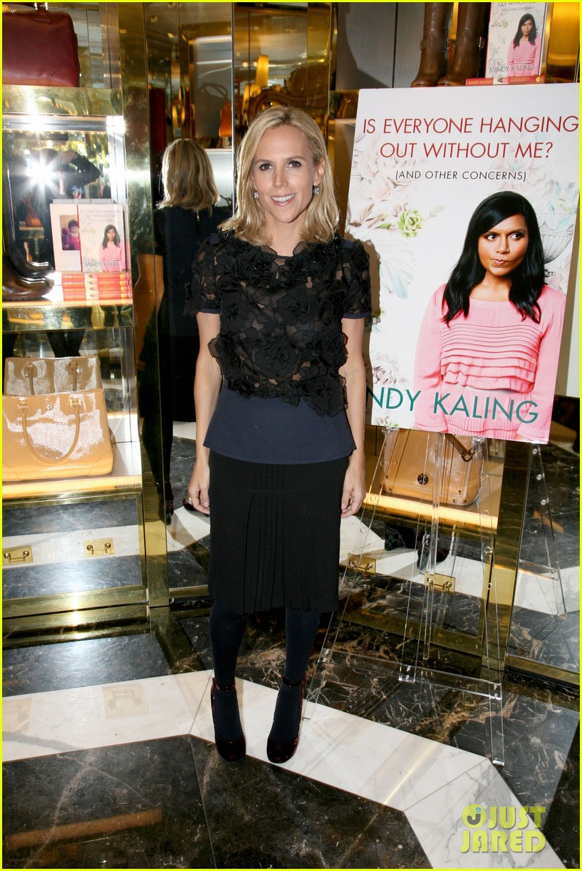 mindy kaling tory burch book launch 012596049