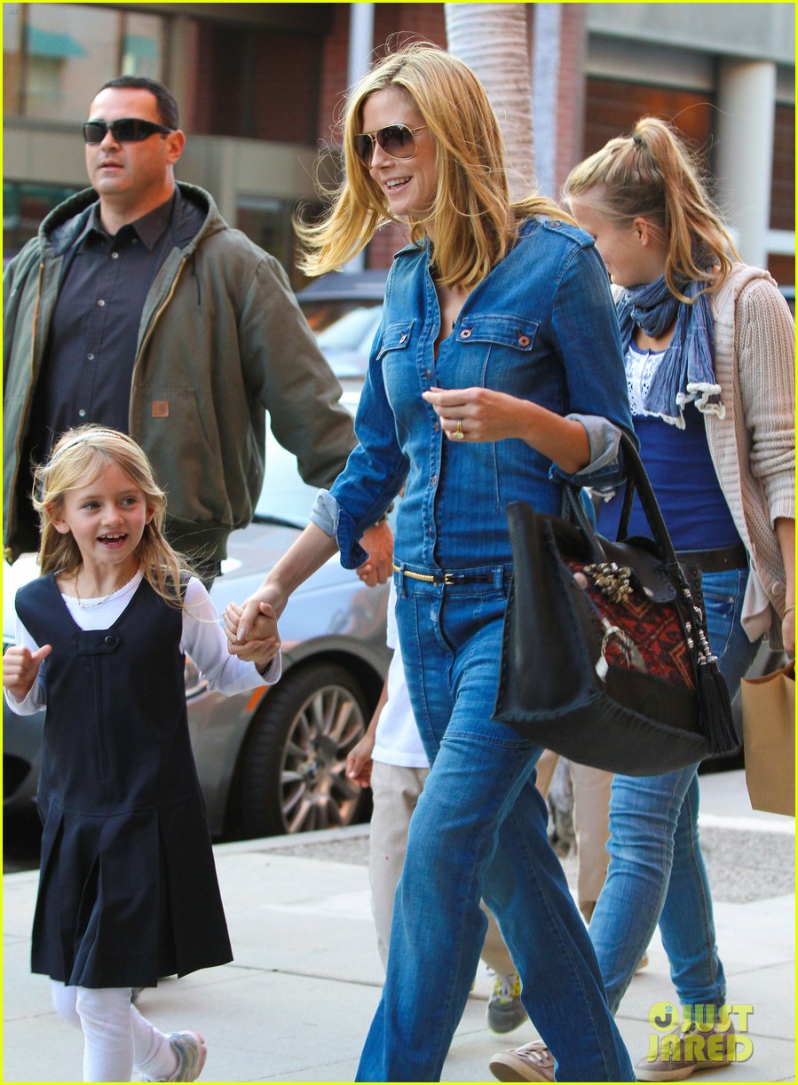 heidi klum denim beverly hills 03