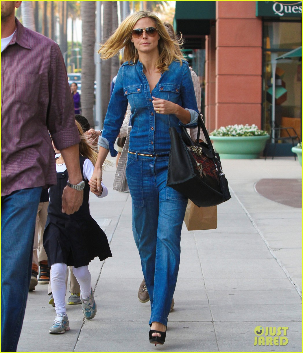 heidi klum denim beverly hills 07