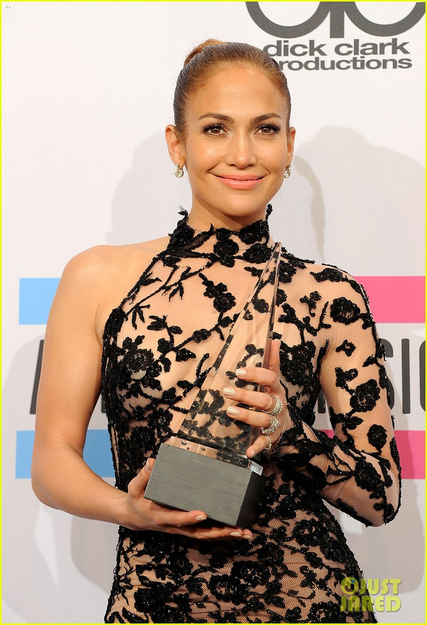 jennifer lopez amas winner 2011 02
