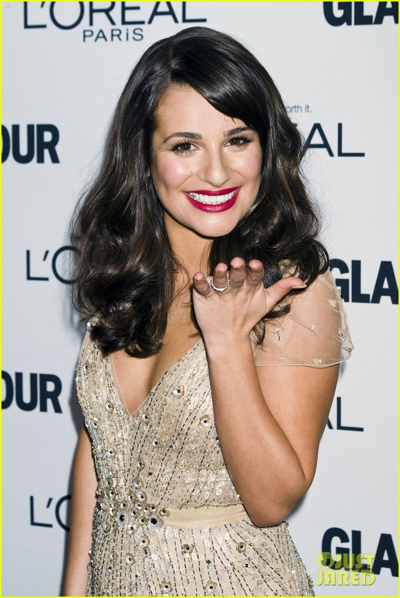 lea michele glamour awards 042597750