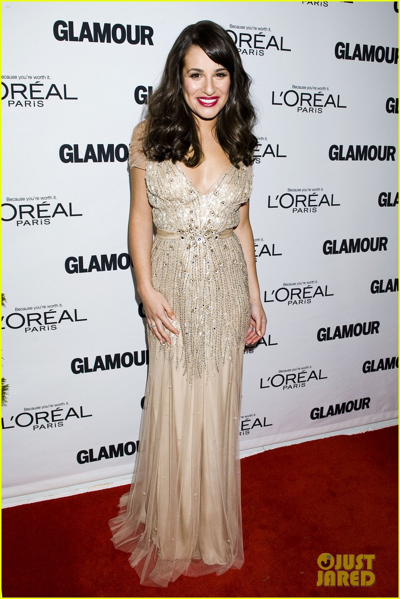 lea michele glamour awards 05