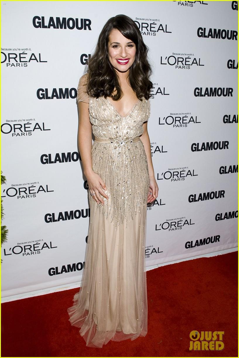 lea michele glamour awards 06