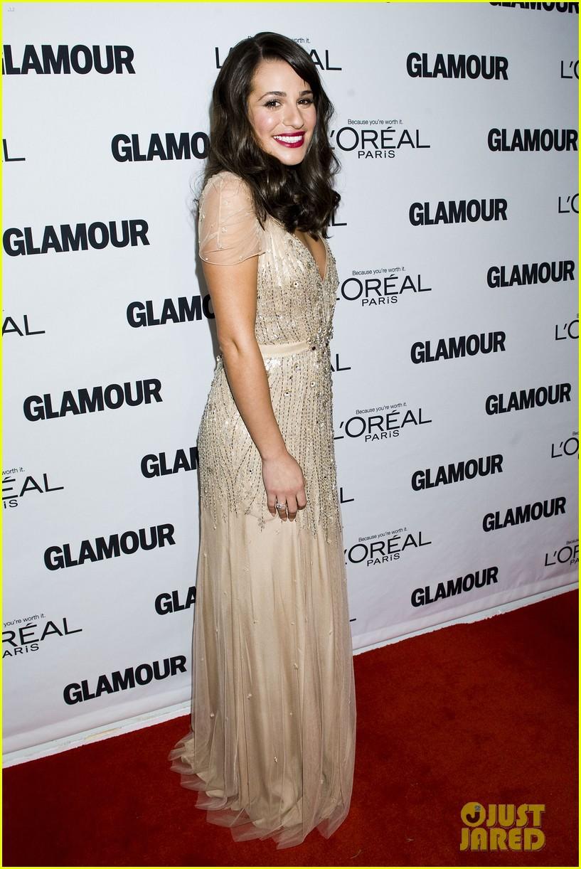 lea michele glamour awards 13