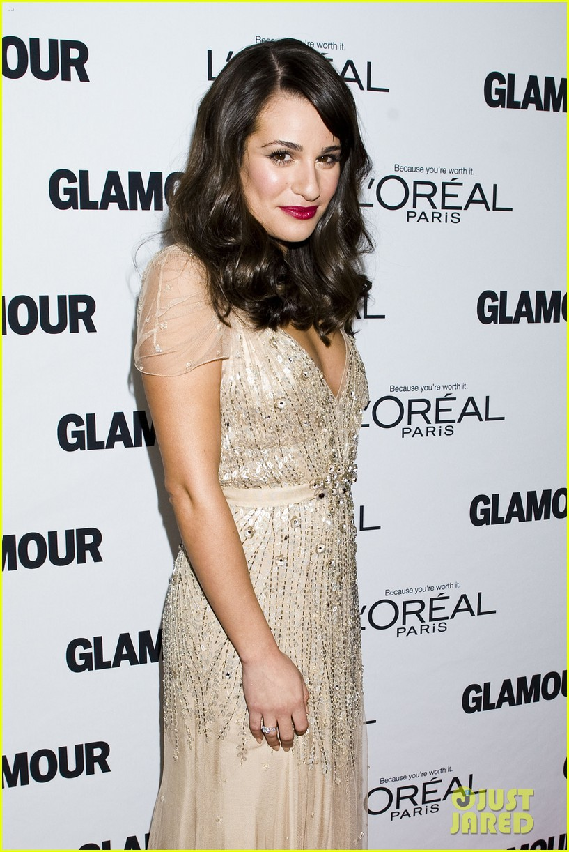 lea michele glamour awards 14