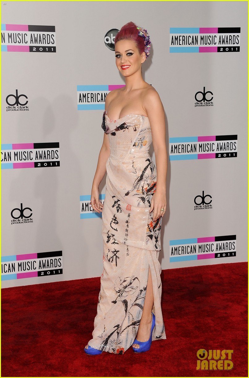 katy perry amas 2011 01