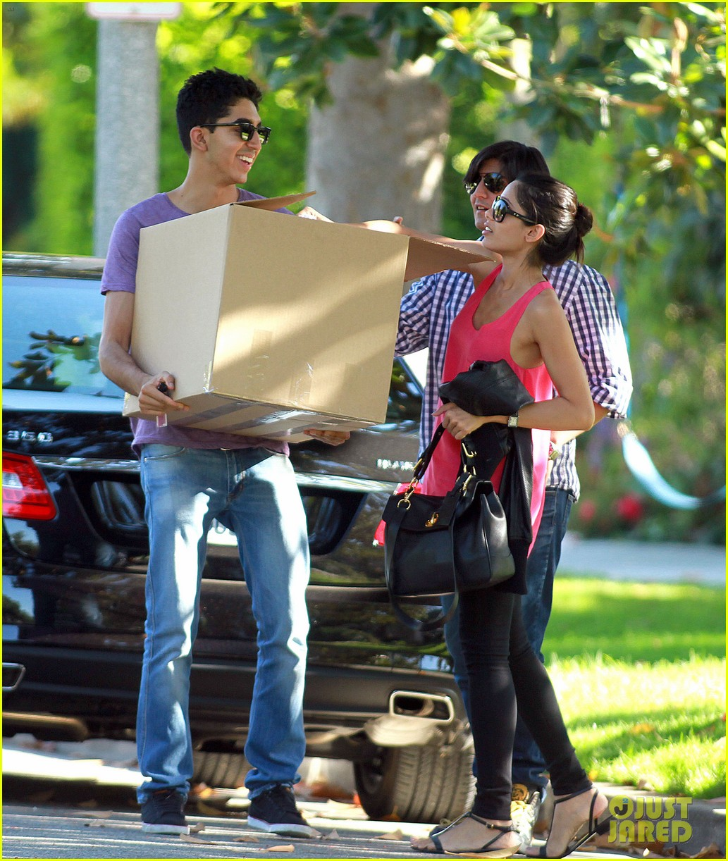 freida pinto dev patel lunch and moving 012597147