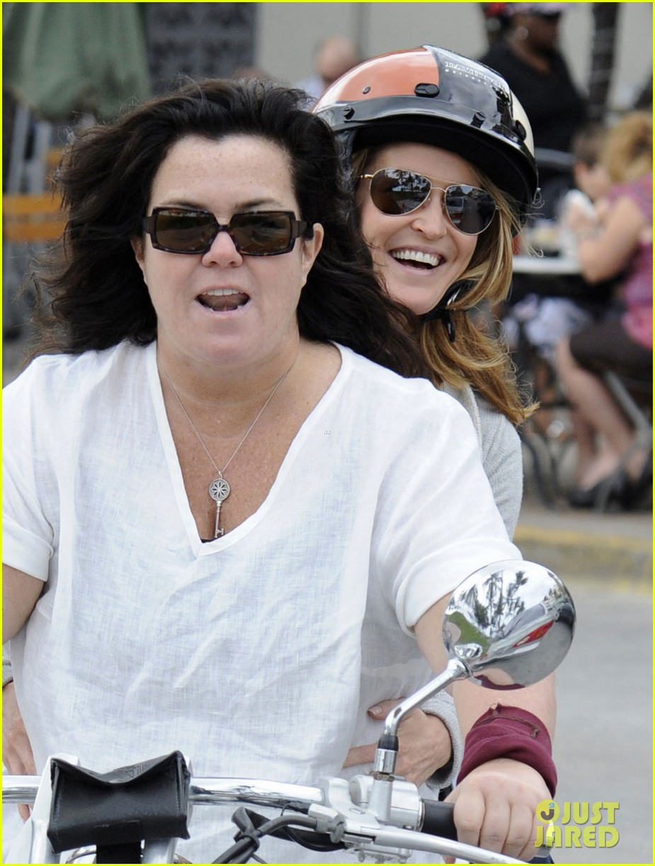 rosie odonnell michelle rounds motorcycle 01