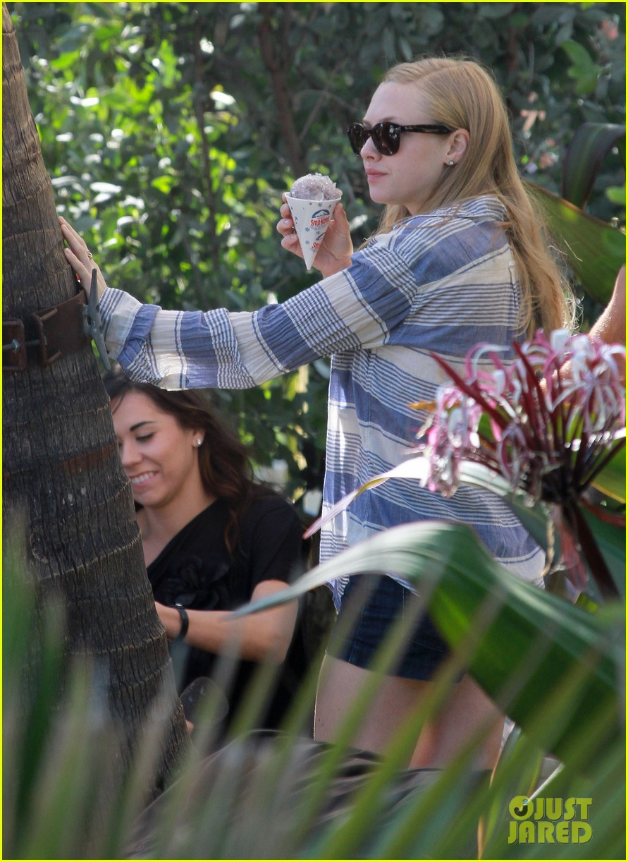 amanda seyfried pool party in miami 08