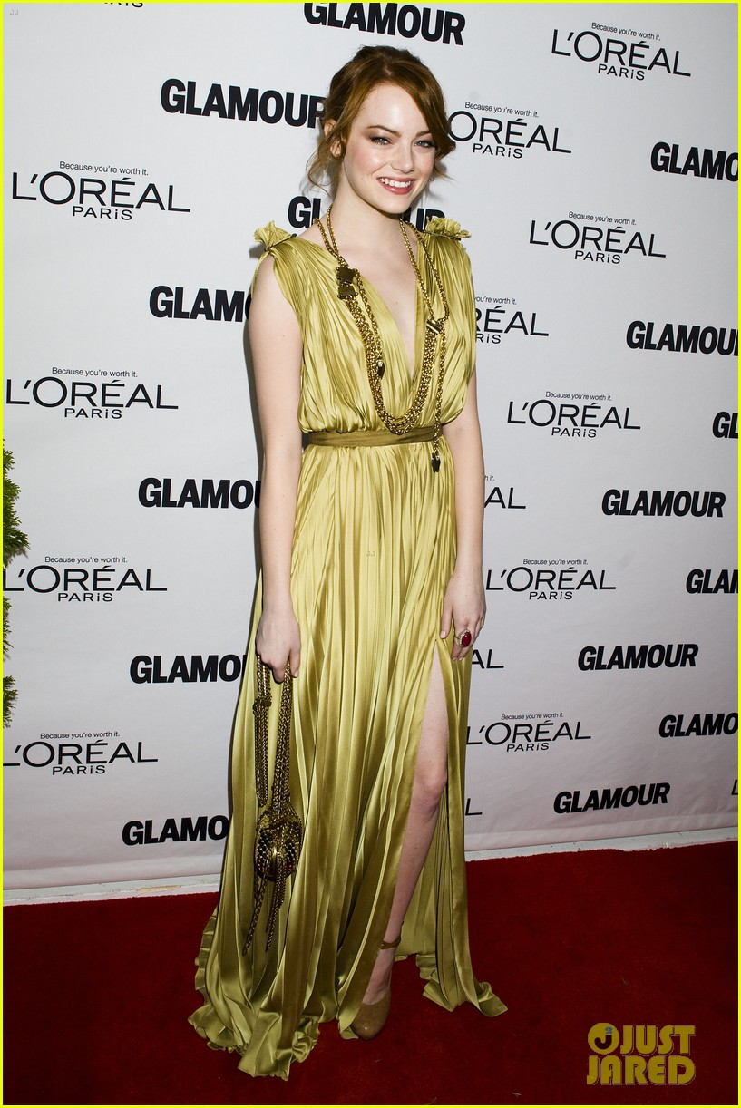 emma stone glamous awards 09