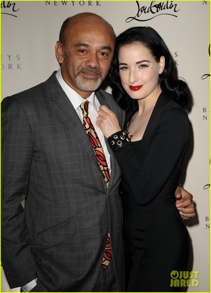 dita von teese christian louboutin launch party cutie 02