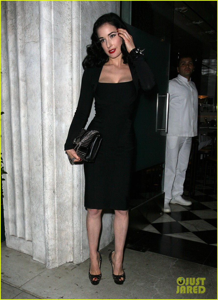 dita von teese christian louboutin launch party cutie 10