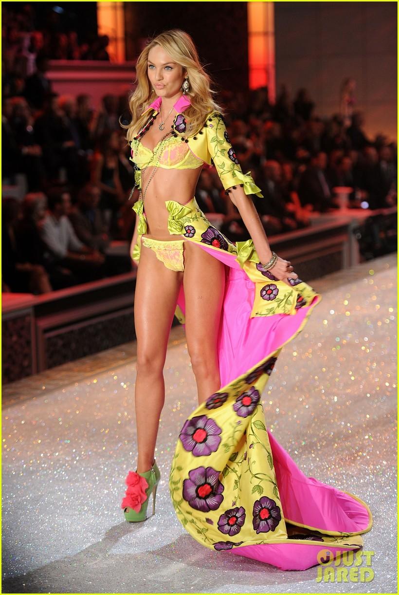 erin heatherton lily aldridge chanel iman victorias secret fashion show 11