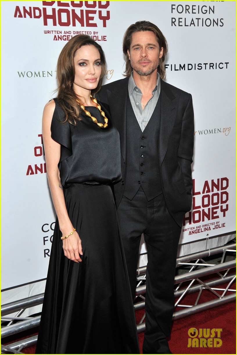 angelina jolie brad pitt blood honey premiere 03