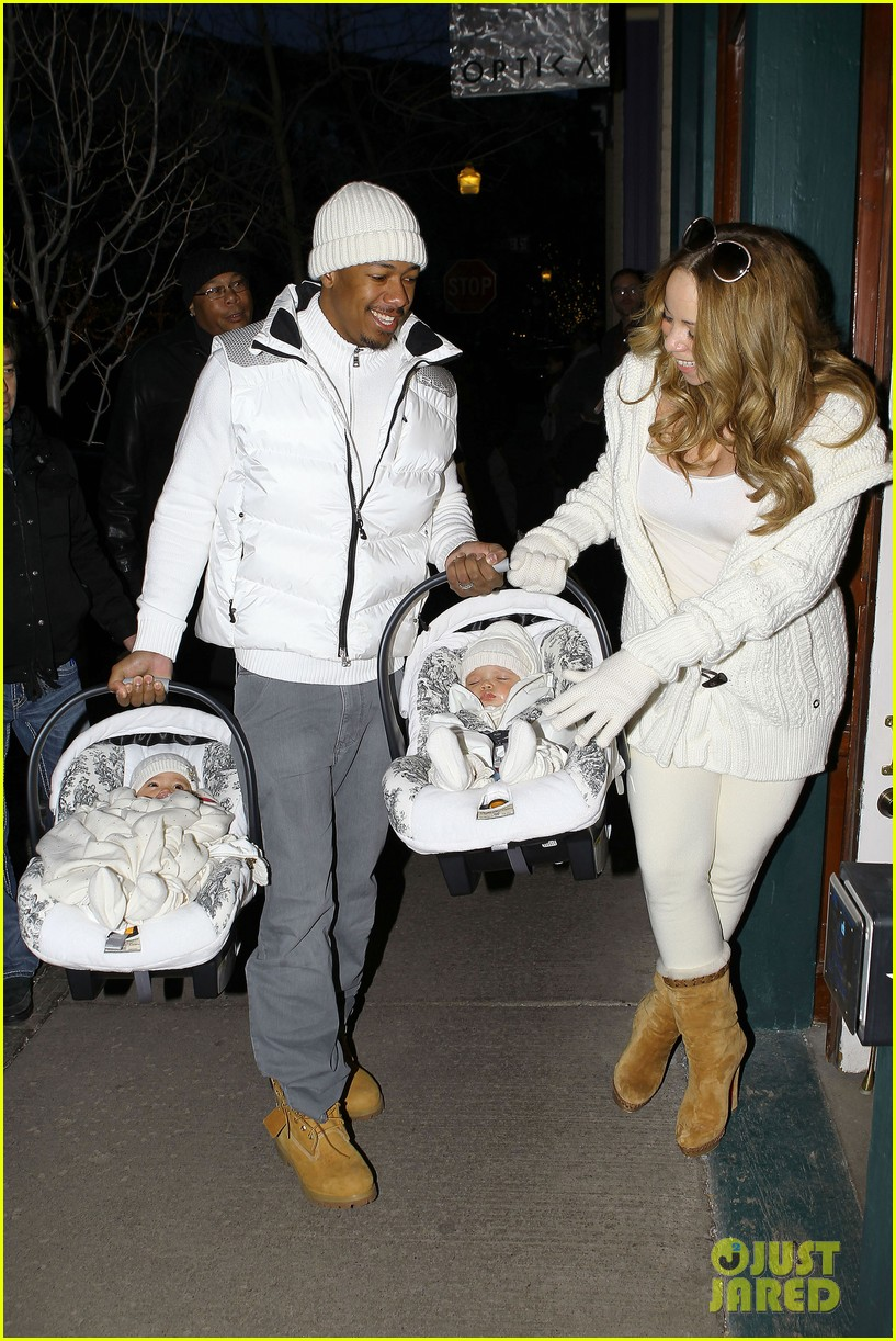 mariah carey aspen twins nick cannon 09