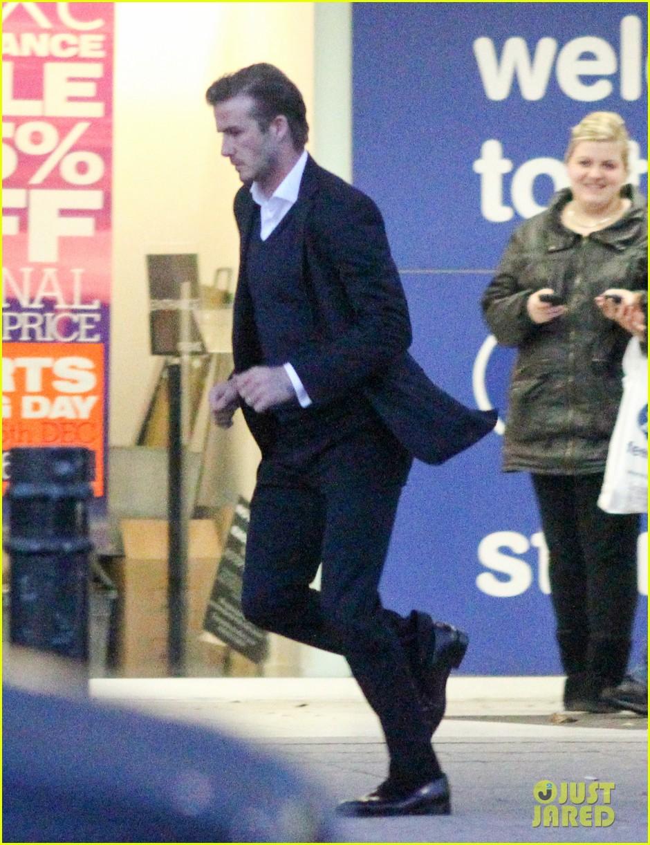 david beckham christmas eve shopping 08