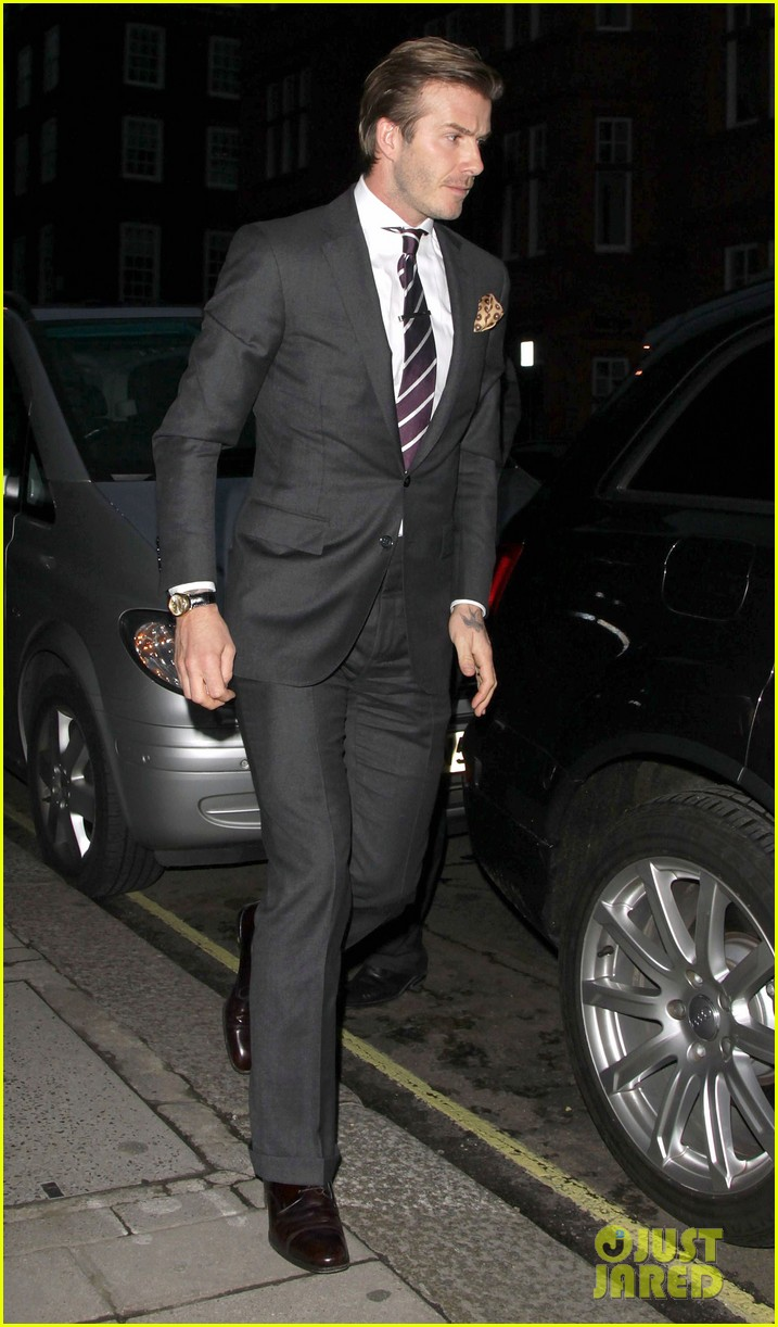 david beckham claridges 09