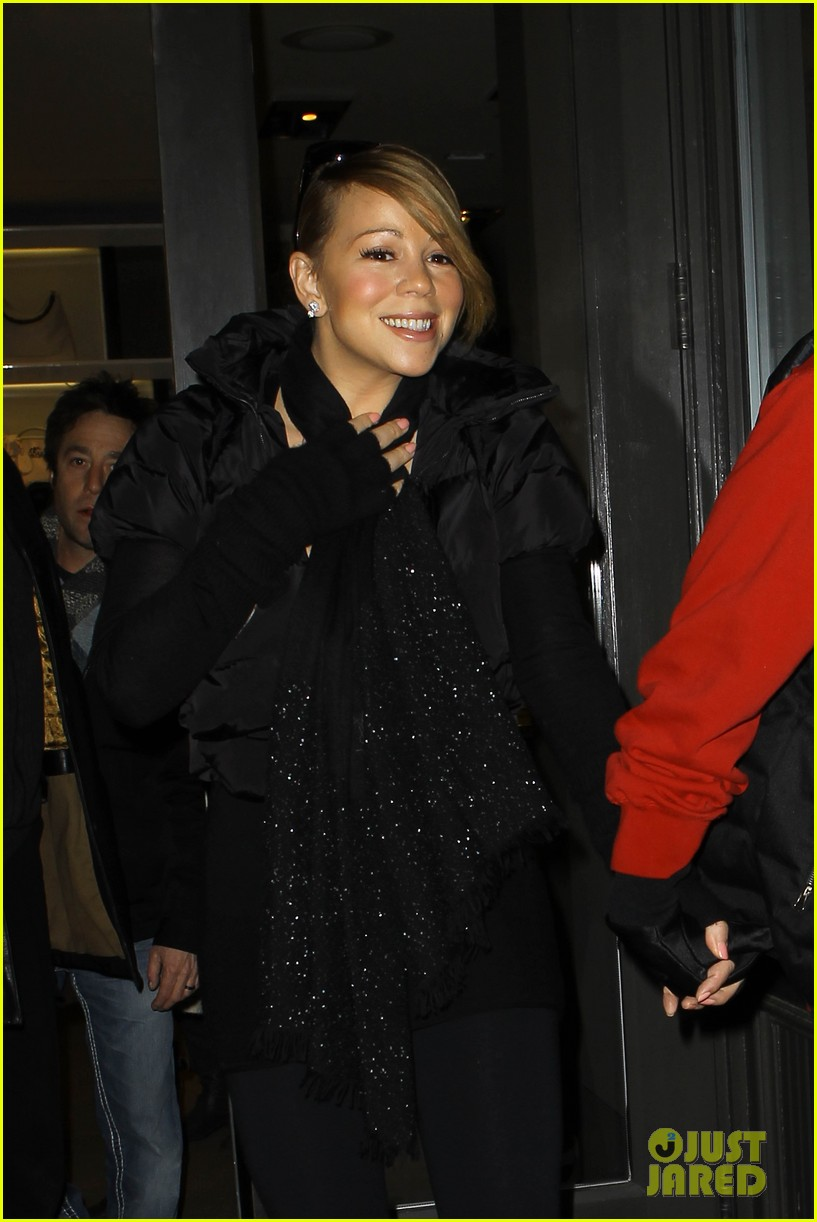 mariah carey shop aspen with nick cannon 12