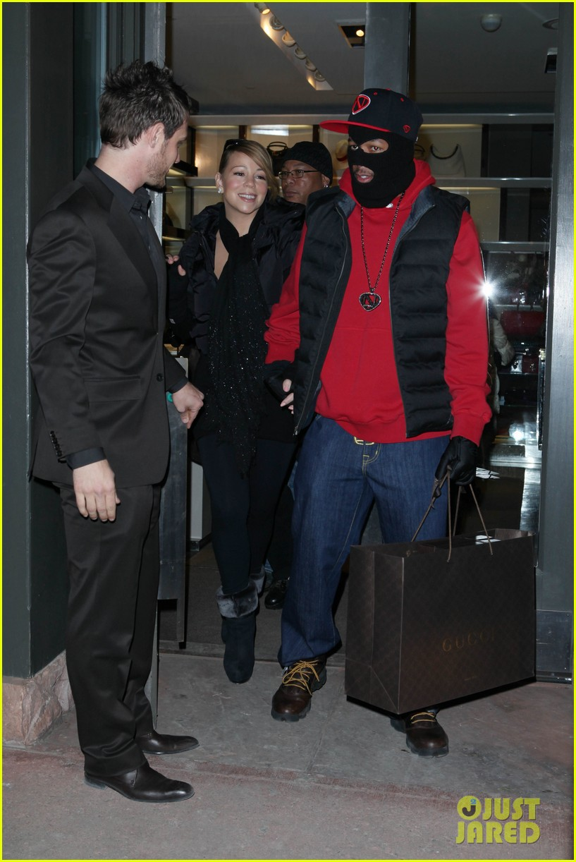 mariah carey shop aspen with nick cannon 21