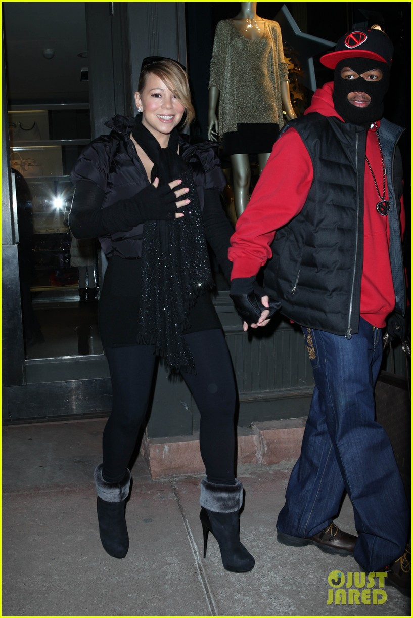 mariah carey shop aspen with nick cannon 22
