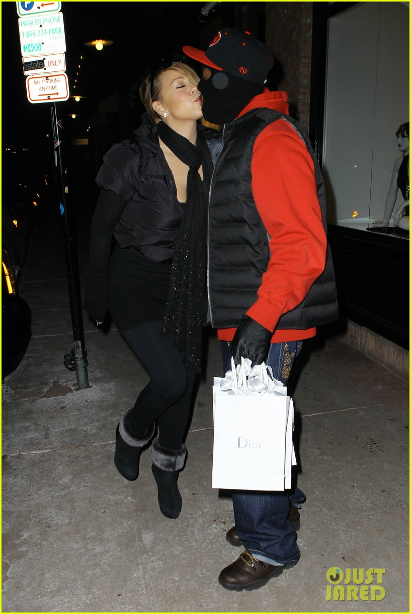 mariah carey shop aspen with nick cannon 25