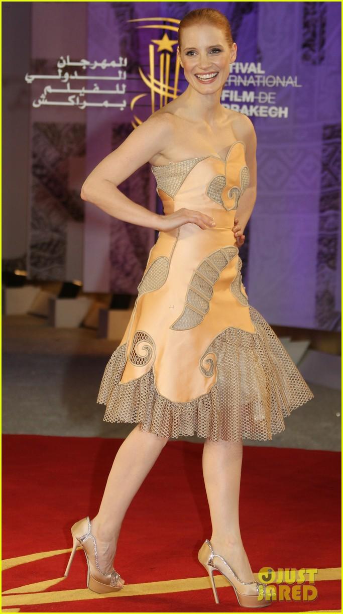 Jessica Chastain: Marrakech Film Festival Closing Ceremony! Jessica Chastain