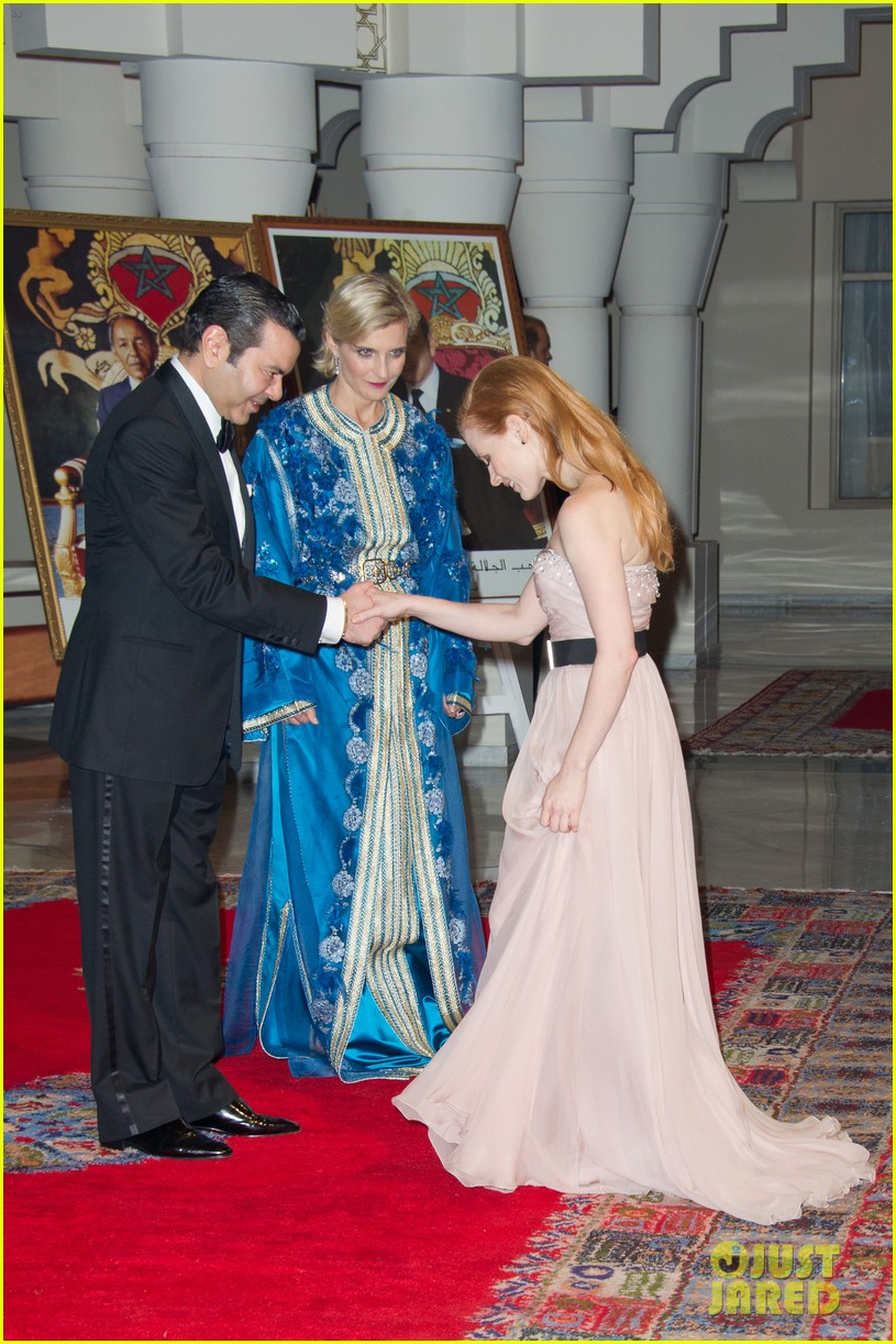 jessica chastain prince marrakech 05