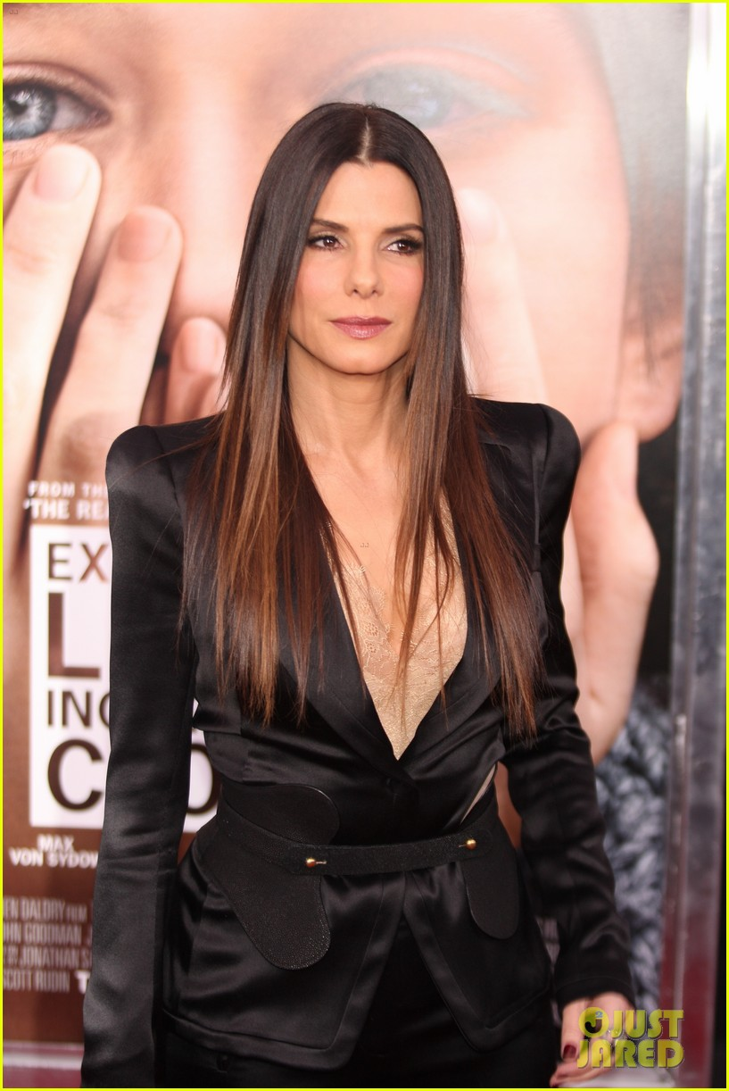 sandra bullock extremely loud incredibly close premiere 01