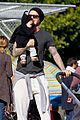 david beckham baby harper out stroller 01