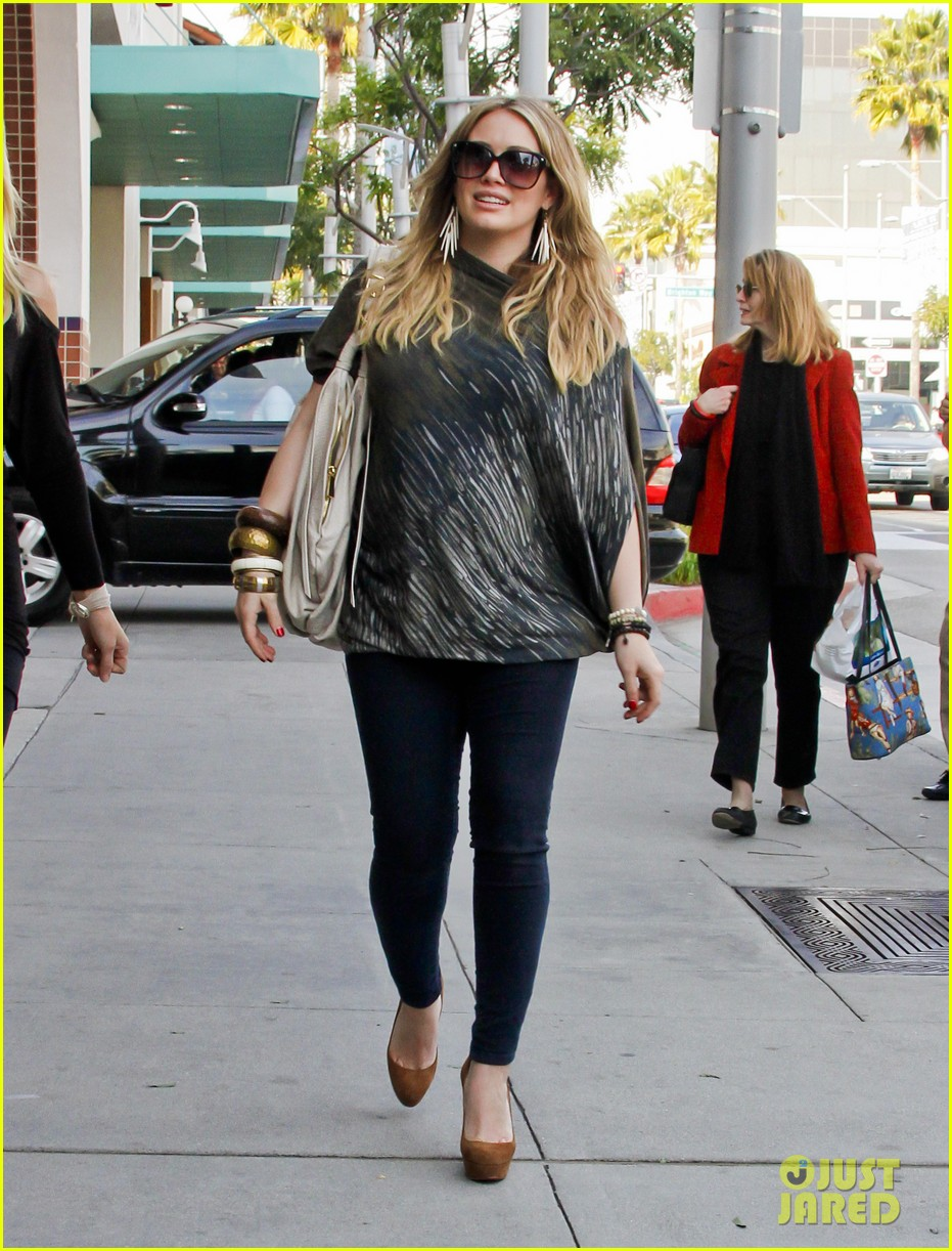 hilary duff mike comrie shopping 05