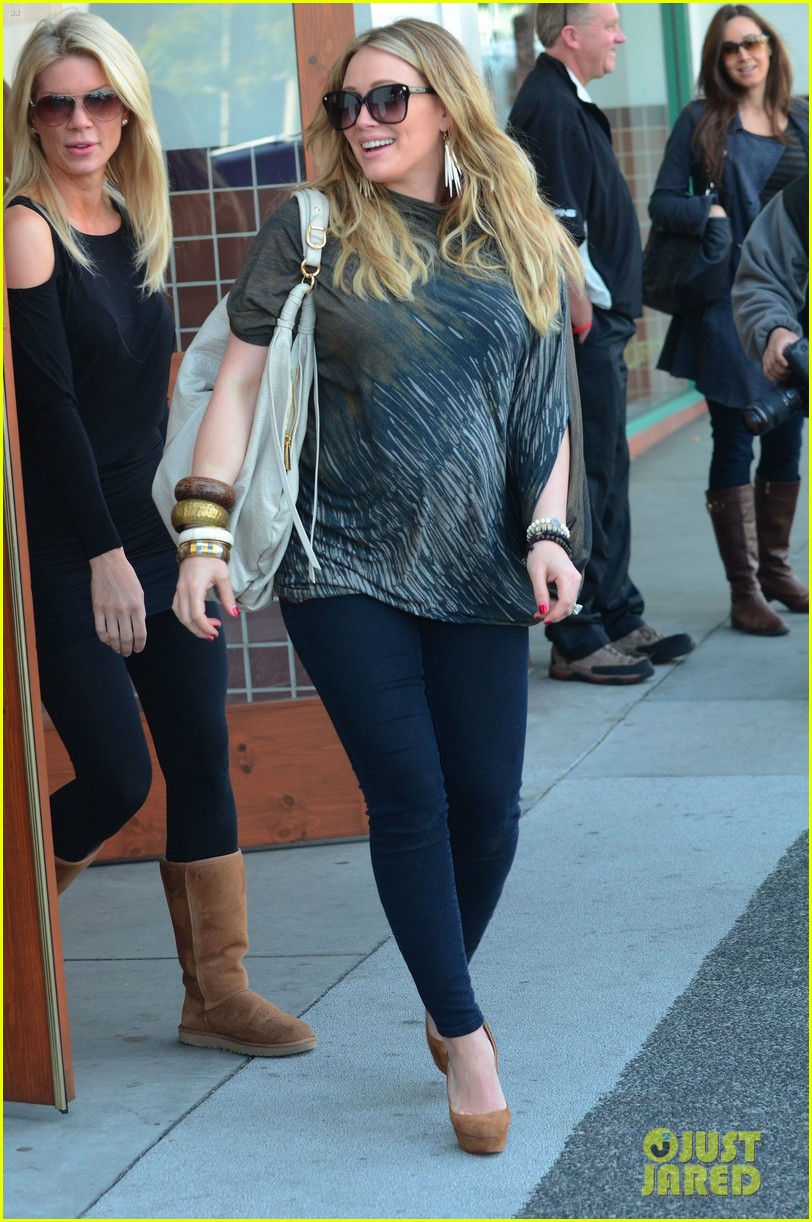 hilary duff mike comrie shopping 13