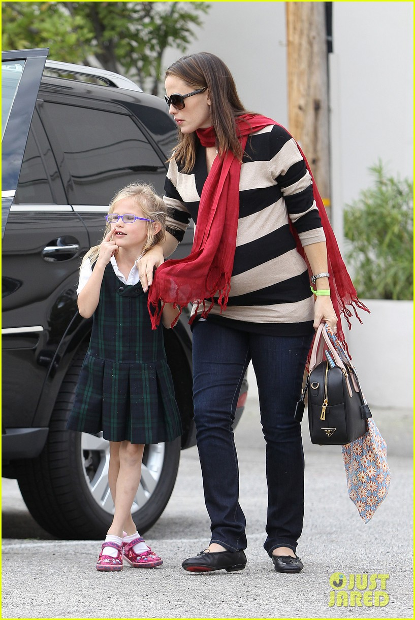 jennifer garner breakfast seraphina dad 00