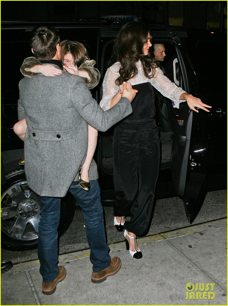 katie holmes tom cruise birthday night out 05