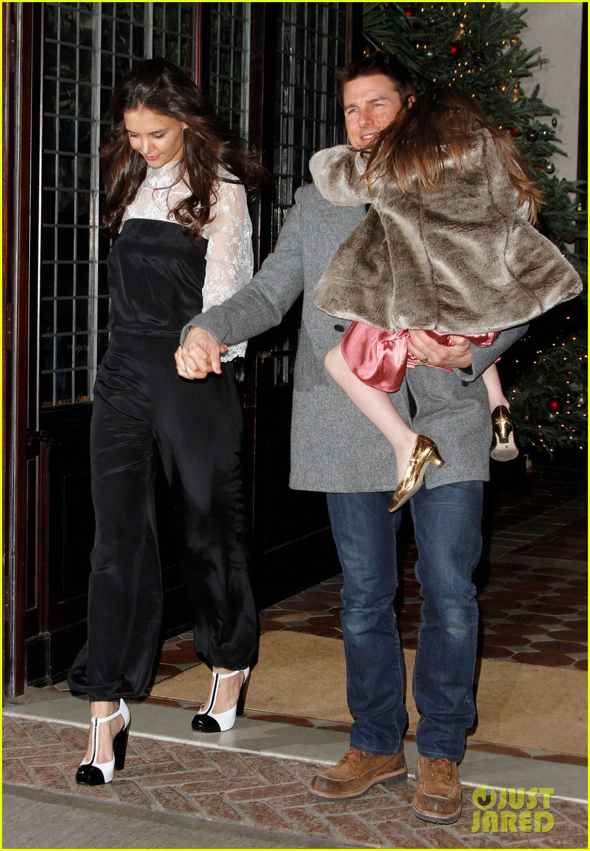 katie holmes tom cruise birthday night out 06