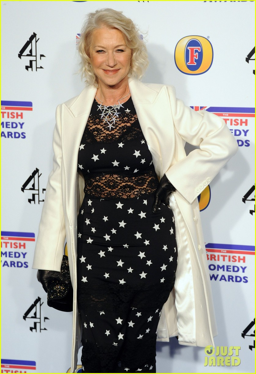 helen mirren british comedy awards 07
