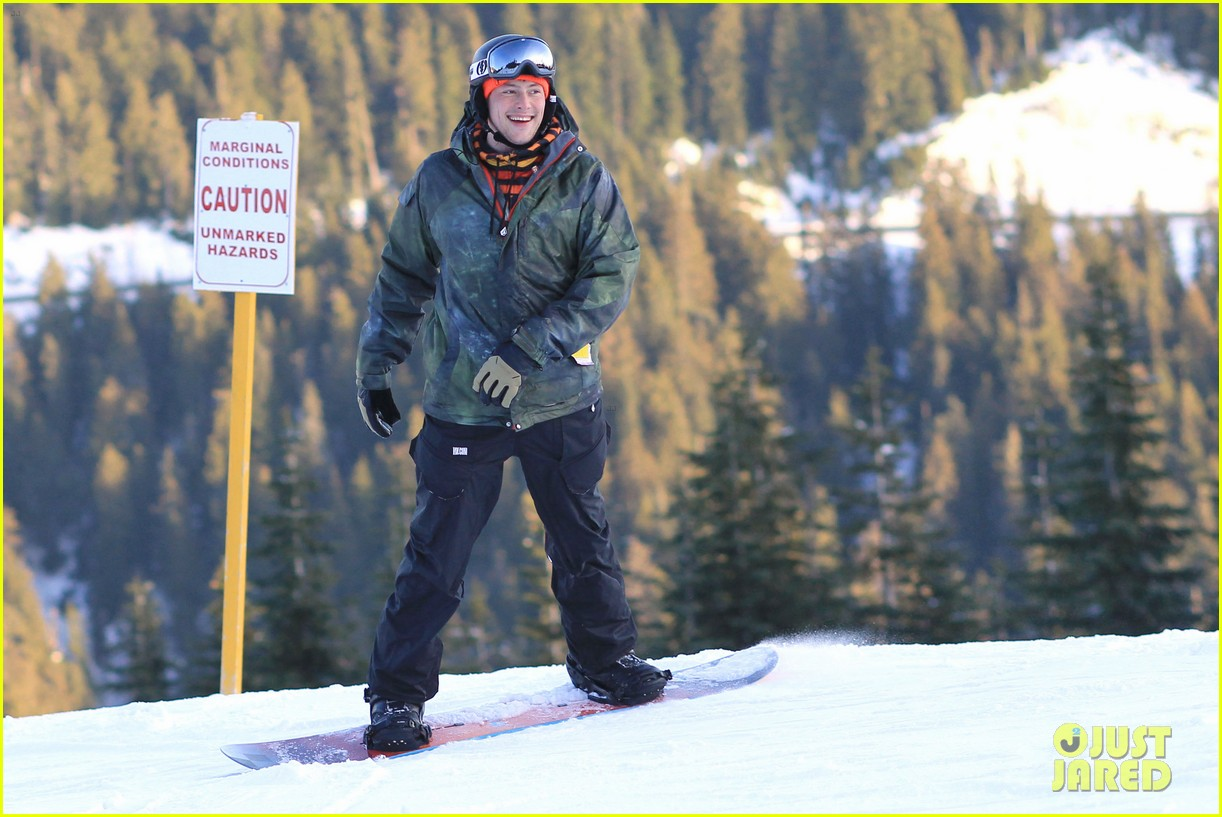 cory monteith snowboarding vancouver 03