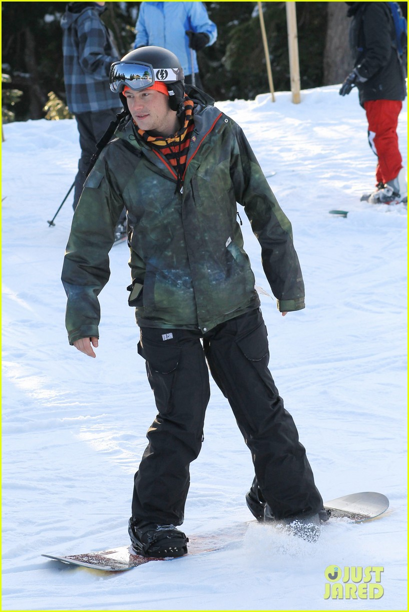 cory monteith snowboarding vancouver 12
