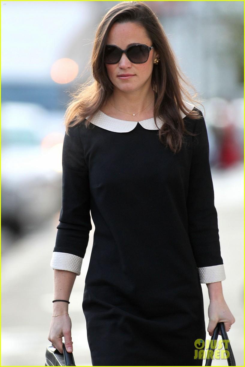 pippa middleton lbd white collar 05