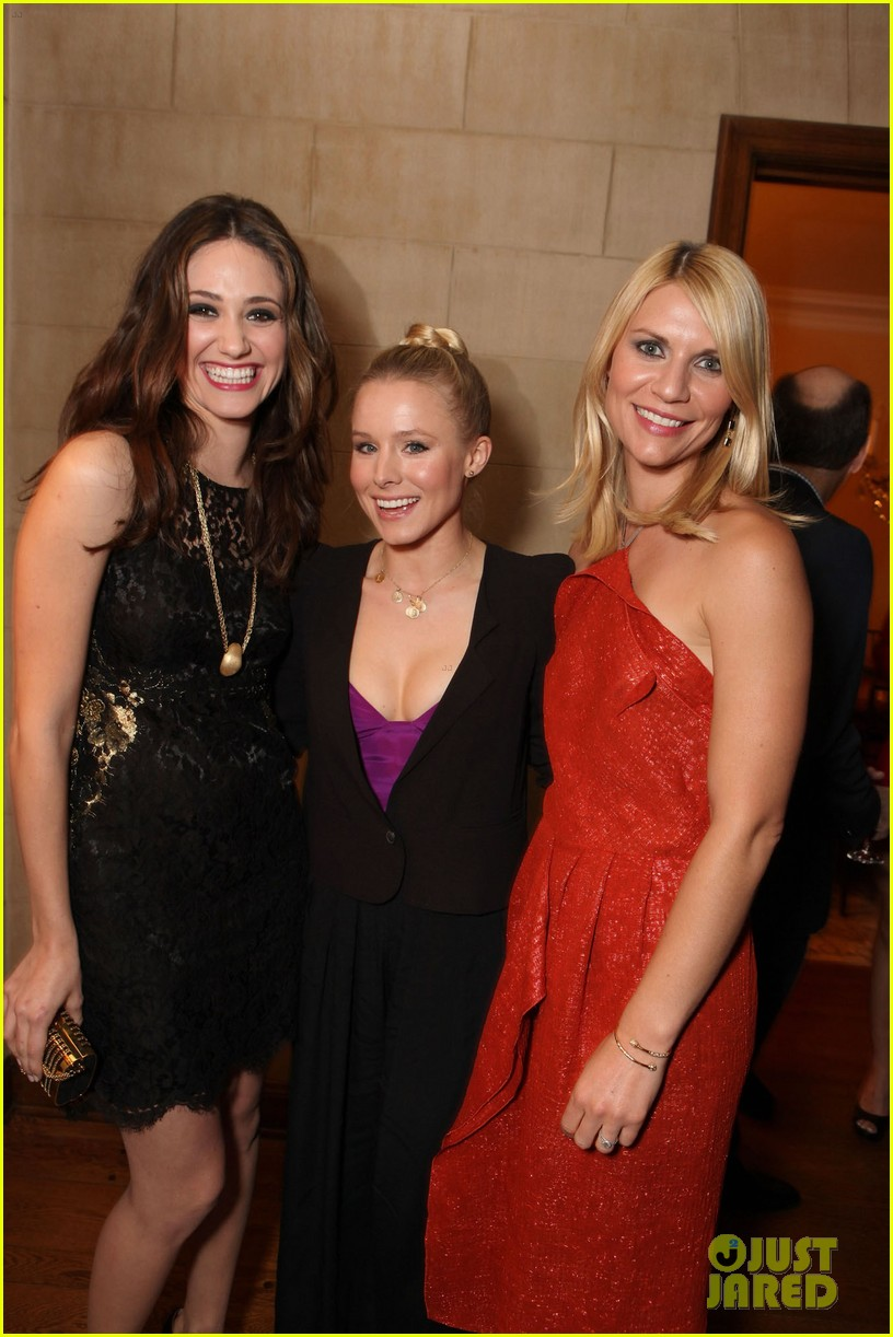 emmy rossum kristen bell claire danes showtime party 052606042