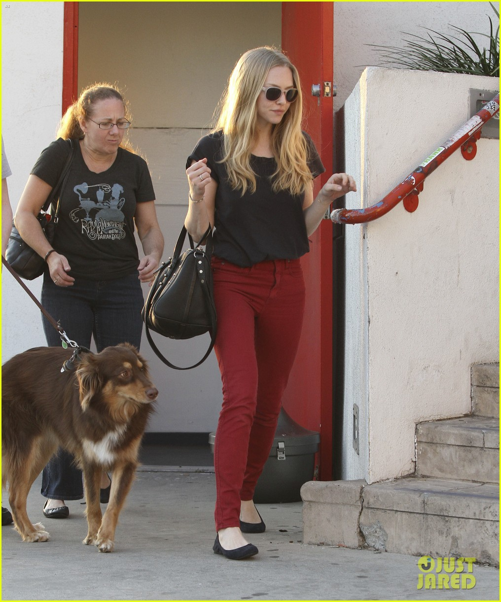 amanda seyfried art supplies shopping stop 02