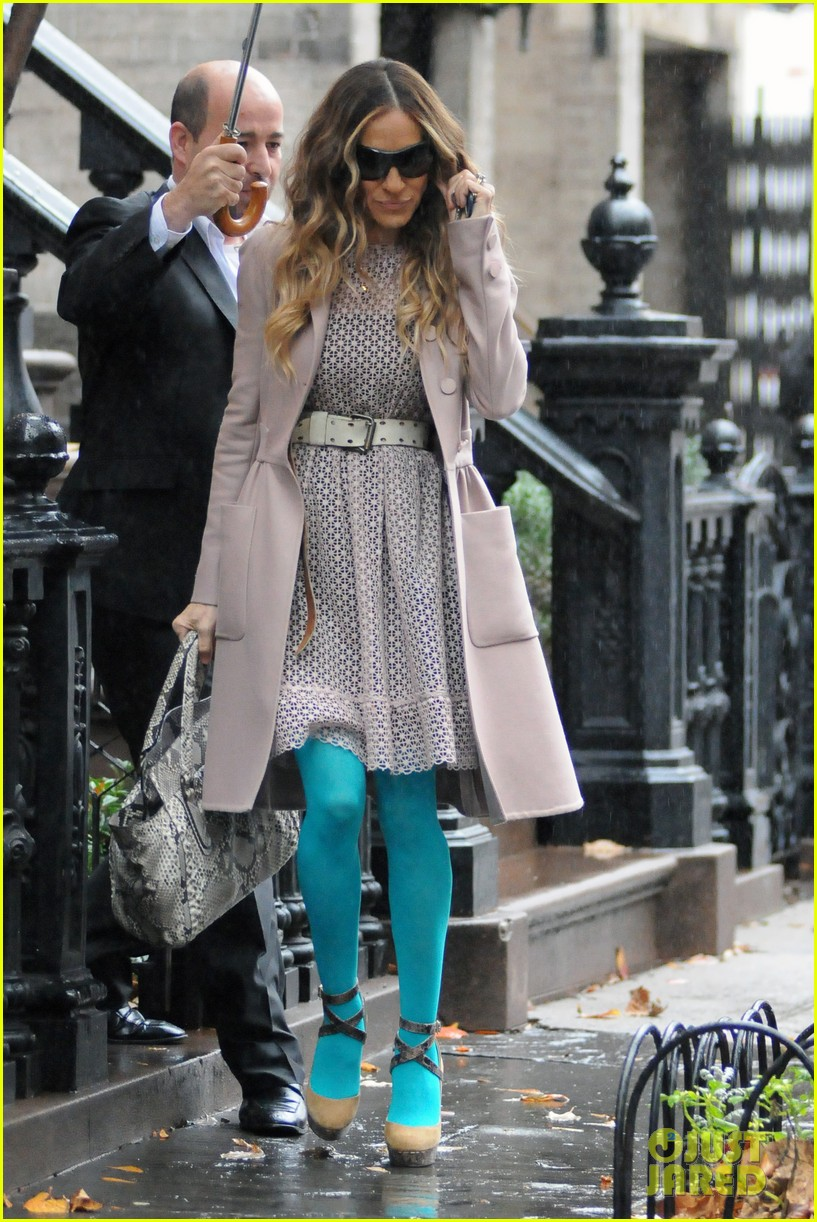 sarah jessica parker aqua tights 04