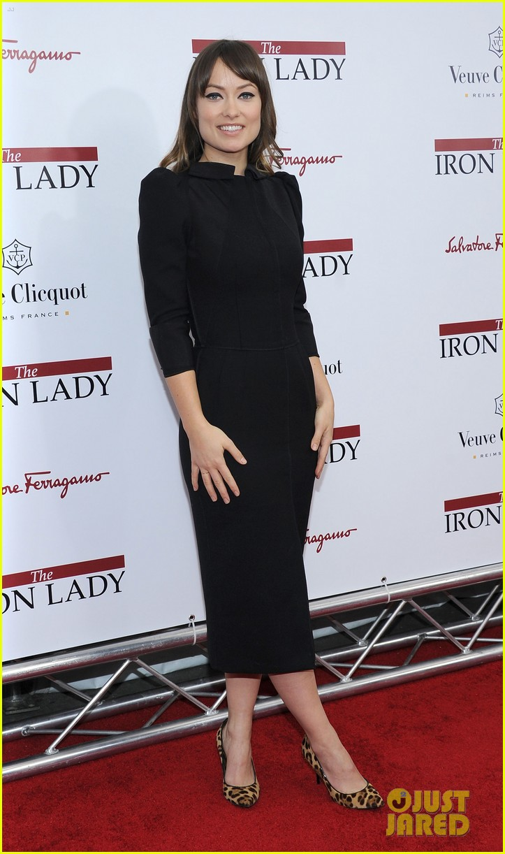 meryl streep anne hathaway iron lady premiere 03