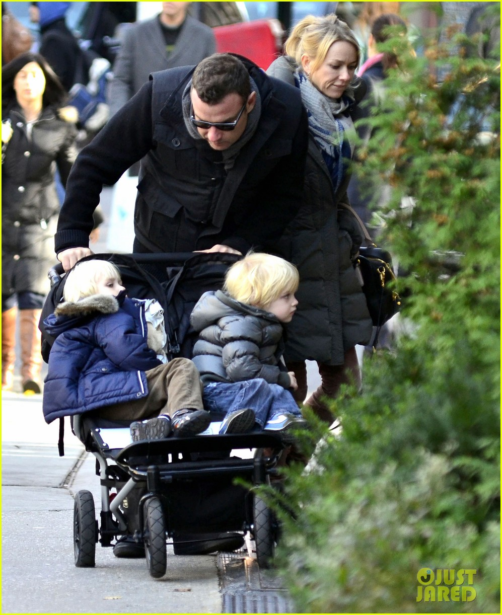 naomi watts family christmas tree shopping 012606898