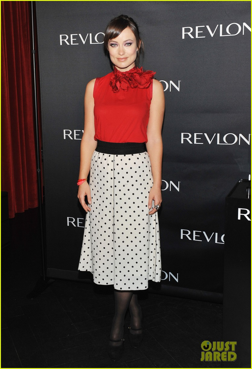 olivia wilde revlon announcement 09
