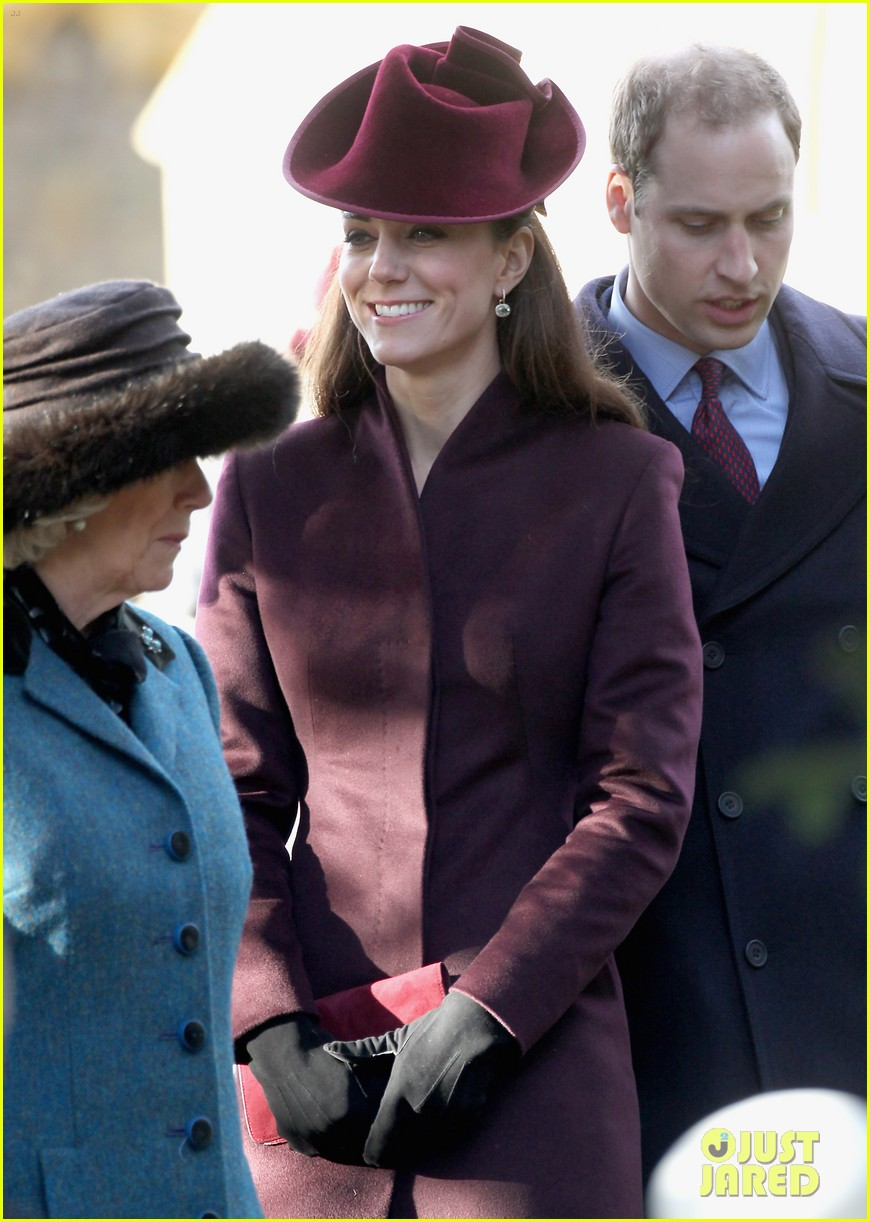 prince william kate christmas day service 02