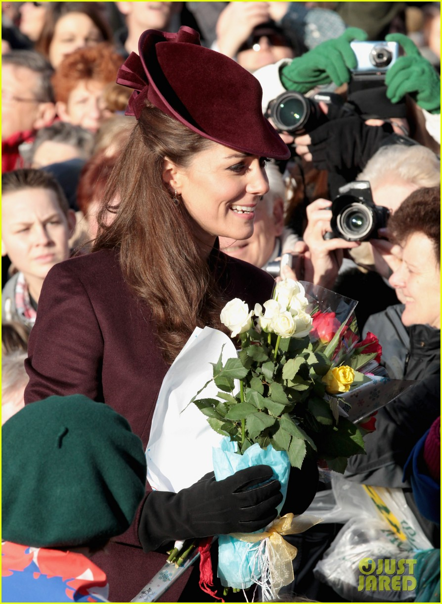prince william kate christmas day service 16