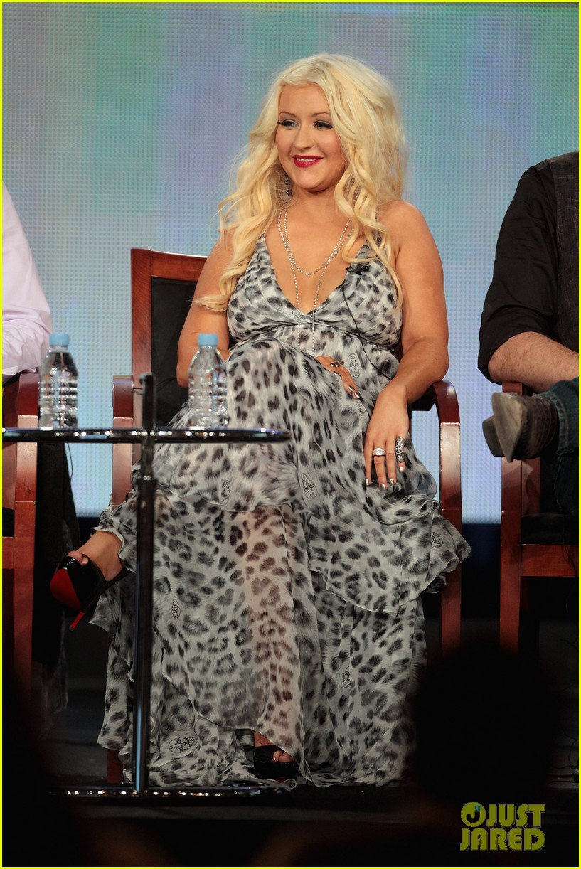 christina aguilera tca the voice judges 09