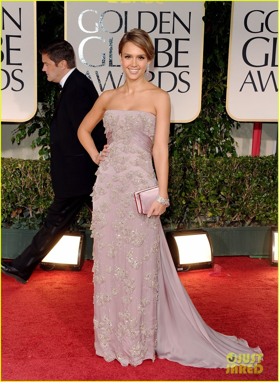 jessica alba golden globes 05